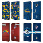 OFFICIAL NFL 2018/19 LOS ANGELES CHARGERS LEATHER BOOK CASE FOR SAMSUNG PHONES 1