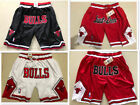 Chicago Bulls NBA Basketball Vintage Game Shorts Men's Pant NWT Stitched