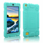 For Amazon Fire 7 7th Gen 2018 Tablet Cover Soft Rubber Shockproof Rugged Case