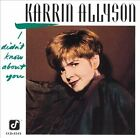 I Didn't Know About You - Karrin Allyson - CD
