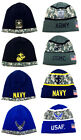 UNITED STATES ARMED FORCES USA MILITARY KNIT BEANIE HAT SKI CAP WINTER SNOW CAMO