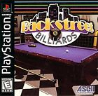 Backstreet Billiards Sony PlayStation Black Label PS1 Complete