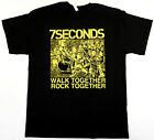 7SECONDS T-shirt Walk Together Talk Together Punk Rock Tee Mens New