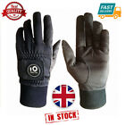Waterproof Winter Gloves Golf Windproof 1 Pair with Ball Marker Black Gift Mens
