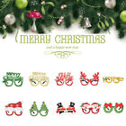 Christmas Glasses Snowman Frame Happy New Year Kids Favors Xmas Gift Party Decor