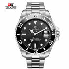 TEVISE Busin Men Automatic Mechanical Stainless Steel Calendar Military Watch BAReplacement Parts & Tools - 163769