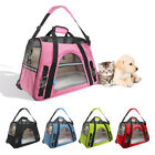 Pet Carrier Soft Sided Large Cat Dog Comfort Multi Color Travel Bag FAA Approved