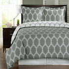 Super Luxurious 100% Cotton Brooksfield Duvet Cover, Printed 3PC Duvet Cover Set image