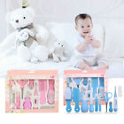 10pcs Baby Newborn Health Care Set Nail Hair Brush Thermometer Kids Grooming Kit