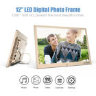 "10/10.1/12/13 "" HD Digital Photo Frame LED Picture MP4/3 Movie Player Remote USA"
