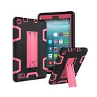 For Amazon Kindle Fire HD 8 8th 7th Gen Heavy Duty Shockproof Stand Case Cover