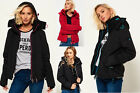 New Womens Superdry Jackets2 Selection - Various Styles & Colours 181218