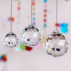 Lot Clear Crystal Feng Shui Lamp Ball Prism Rainbow Sun Catcher Wedding Decor
