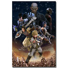 Kingdom Hearts 3 Game Art Silk Fabric Wall Poster 13x20 24x36 inches 002