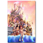 Kingdom Hearts 3 Game Art Silk Fabric Wall Poster 13x20 24x36 inches 007
