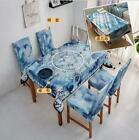 Dinning Coffee Table Cloth tukR Linen Blend Dining Table And Chair Cover