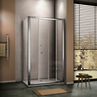 8mm NANO Self Clean Glass Walk In Sliding Shower Enclosure Door And Side Panel