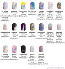 Holographic ~ Jamberry nail wraps~current & retired HALF sheets ~ updated 10/18