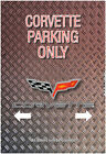 Parking only Automarke  others will be crushed Blechschild Car Traktor Motorrad