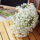 Fake Silk Artificial Gypsophila Flowers Bouquet Party Home Gardendecor White