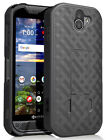 Slim Kick-Stand Case Hard Shell Cover for Kyocera DuraForce Pro 2 E6910