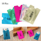 Bank Credit Cards Sleeve Wallet Card Holder RFID Blocking Protect Case Cover