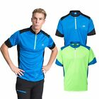 Trespass Dudley Mens Half Zip Quick Dry Top Active Running Shirt for Cycling