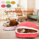 Pet Cat Bed Soft Puppy Cushion House Warm Nest Kennel Sleeping Mat Pad Cave