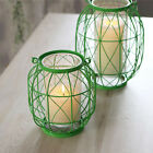 Внешний вид - Iron Wire Lantern Votive Candle Tea Light Holder Wedding Venue Decoration