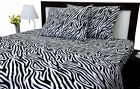 Luxurious Bedding Set Leopard/Zebra Print 800 Thread Count Pure Cotton All Size image