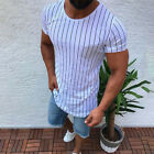 US Men Slim Fit O Neck Short Sleeve Muscle Tee Shirts Casual T-shirt Tops Blouse <br/> ❤ 2-9 WORKING DAYS TO BUYER IN USA ❤ EASY RETURN ❤