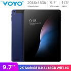 """Voyo i8 9.7"""" IPS 2K Android 8.0 4GB 64GB Dual Band WIFI 4G Phone Call Tablet PC"""