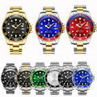US TEVISE T801A Mens Business Mechanical Wrist Watch Stainless Steel Wristwatch image