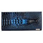 Genuine Leather 3D Embossing Alligator Ladies Crocodile Long Clutch Wallets Wome