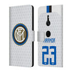 INTER MILAN 2018/19 PLAYERS AWAY KIT GROUP 2 LEATHER BOOK CASE FOR SONY PHONES 1