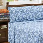 Superior Paisley Deep Pocket Cotton Flannel Sheet Set image