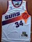 Phoenix Suns Charles Barkley Basketball Jersey Throwback Swingman #34 White Sewn