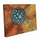 Flower Seeds Blue Graphic on Canvas