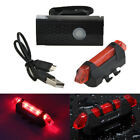 Rechargeable USB LED Bicycle Bike Flashlight Lamp Front Cycling Light Headlight