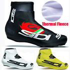 1 pair Cycling Shoe Covers Fleece Thermal Warm Man Woman Overshoes Road Bicycle