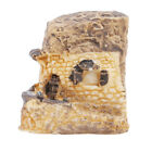 Miniature Fairy Garden Stone Houses Mini Fairy Cottage Houses for Garden L