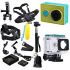 Original XiaoMi Yi WIFI Sports Action Camera+Accessories Kit+Charger+Battery  |-