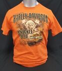 "New Harley Davidson Men's Dealer Tee ""Knuckle Specs"" P/N 2828 image"
