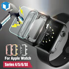 For Apple Watch Series 3 Snap On Bumper Hard Case Cover Screen Protector 38/42mm