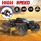 1:12 Electric RC Car Hobby Grade 4WD 2.4Ghz Remote Control Off-Road Monster Toy