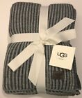 UGG AUSTRALIA Home JACKSON Oversized Knit Throw GRANITE GRAY 50 x 70 ($125) NWT image