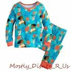 NEW Disney Store Girls Moana & Pua Island PJ Pal Long Sleeve Pajamas 8