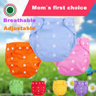 Kyпить Lot 5 Diapers + 5 Inserts Adjustable Reusable Baby Washable Cloth Pocket Nappies на еВаy.соm