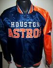 HOUSTON ASTROS MLB STARTER Snap Down Jacket Sping/Summer Ed NAVY/ORANGE on Ebay
