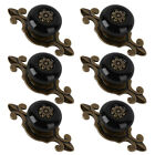2/6/10x Vintage Ceramic Drawer Knob Furniture Door Cupboard Cabinet Pull Handles